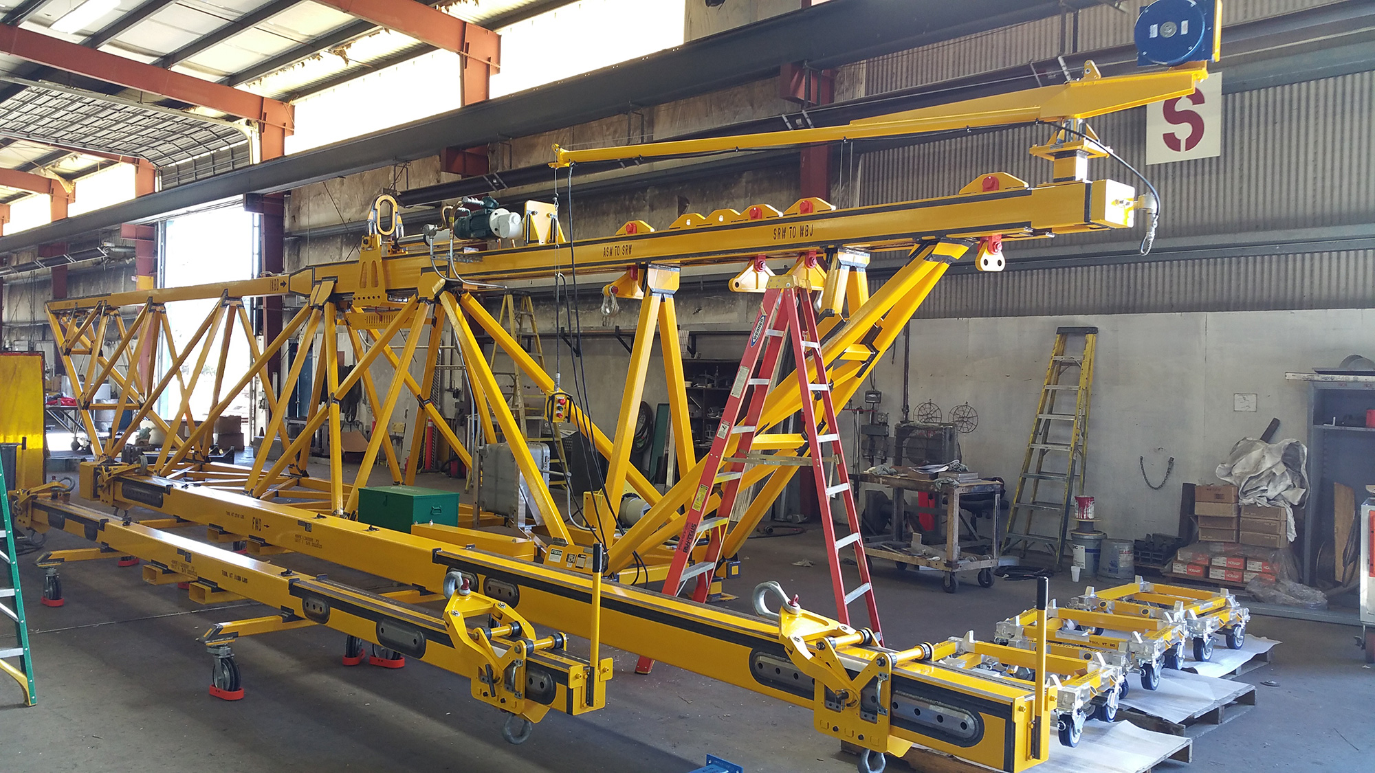 Custom Fabricated Steel Equipment by Steel-Fab Inc